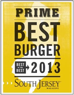 Best Burger of 2013 by South Jersey Magazine